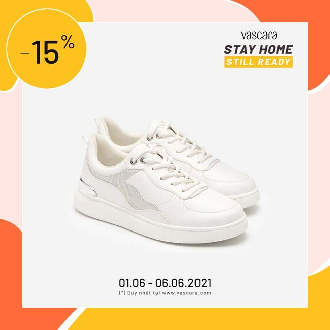 """8 đôi sneakers trắng """"made in Vietnam"""" chuẩn thời thượng, kết hợp được với mọi kiểu đồ và giá chỉ từ 350k - Ảnh 15."""
