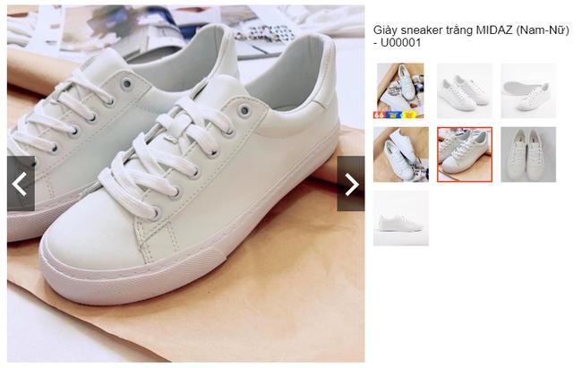 """8 đôi sneakers trắng """"made in Vietnam"""" chuẩn thời thượng, kết hợp được với mọi kiểu đồ và giá chỉ từ 350k - Ảnh 13."""