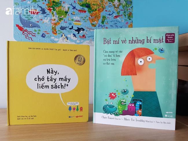 Lý do trẻ nên đọc sách khoa học từ sớm và 10 cuốn sách khoa học hay nhất cho trẻ từ 3-10 tuổi - Ảnh 3.