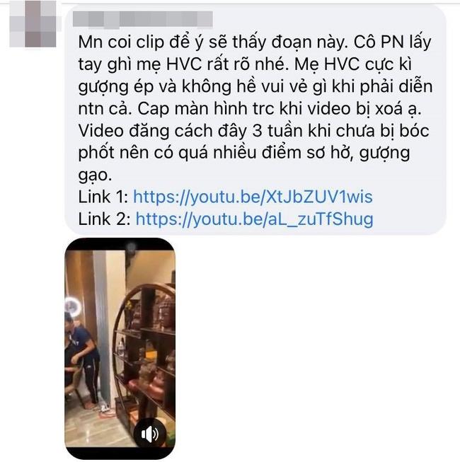 Xôn xao clip Phi Nhung kiểm soát, ra lệnh ép buộc mẹ ruột Hồ Văn Cường  - Ảnh 3.