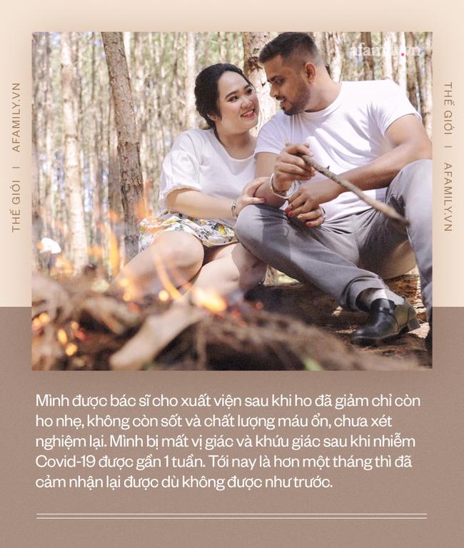 """Nàng dâu Việt ở Ấn Độ kể về hành trình chữa trị Covid-19: 2 vợ chồng cùng nhiễm, vào khách sạn cách ly như đi hưởng tuần trăng mật """"nhiều đau đớn"""" - Ảnh 6."""