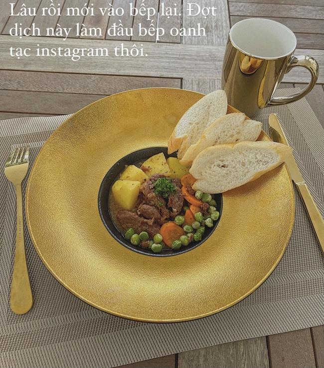 """Đảm đang và khéo léo như Lan Khuê, đến bát đĩa cũng phải """"tông xuyệt tông"""" với món ăn mới chịu - Ảnh 6."""