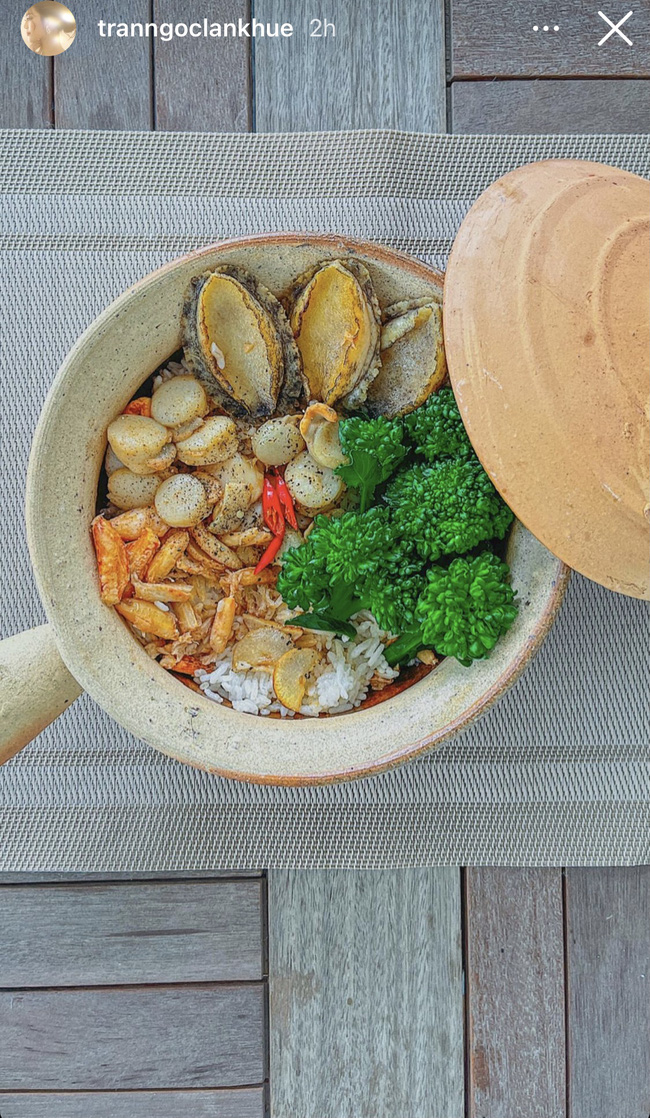 """Đảm đang và khéo léo như Lan Khuê, đến bát đĩa cũng phải """"tông xuyệt tông"""" với món ăn mới chịu - Ảnh 2."""
