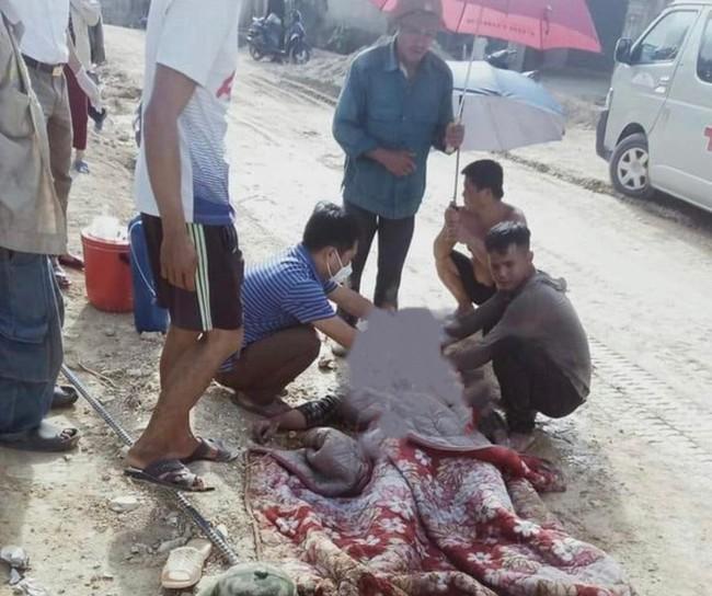 Nghệ An: Một công nhân bị điện giật tử vong khi đang làm việc - Ảnh 1.