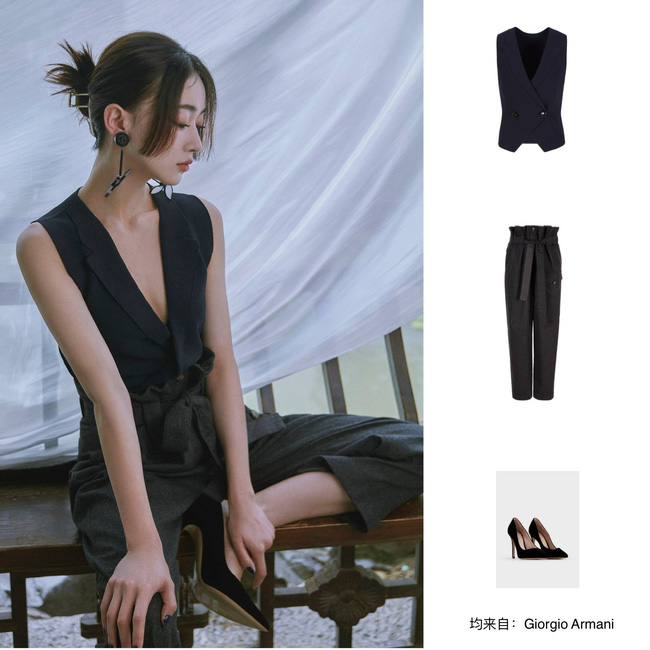 Visual của Ngô Cẩn Ngôn chỉ thăng hạng hơn chứ không kém: Để tóc Hime, diện đồ đơn giản đi fashion show vẫn đẹp ngút ngàn - Ảnh 5.