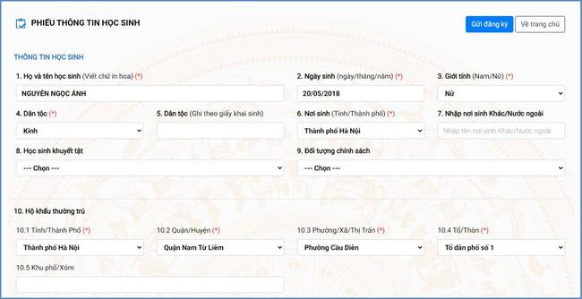Ngày mai (12/7) bắt đầu tổ chức tuyển sinh trực tuyến lớp 1 và lớp 6, Sở GD-ĐT Hà Nội đưa ra tài liệu hướng dẫn chi tiết  - Ảnh 5.