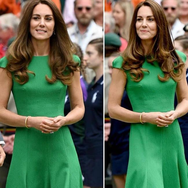 """Công nương Kate đi vào """"vết xe đổ"""" của chính mình: 2 lần diện váy xanh đều gây hiểu lầm tai hại - Ảnh 2."""