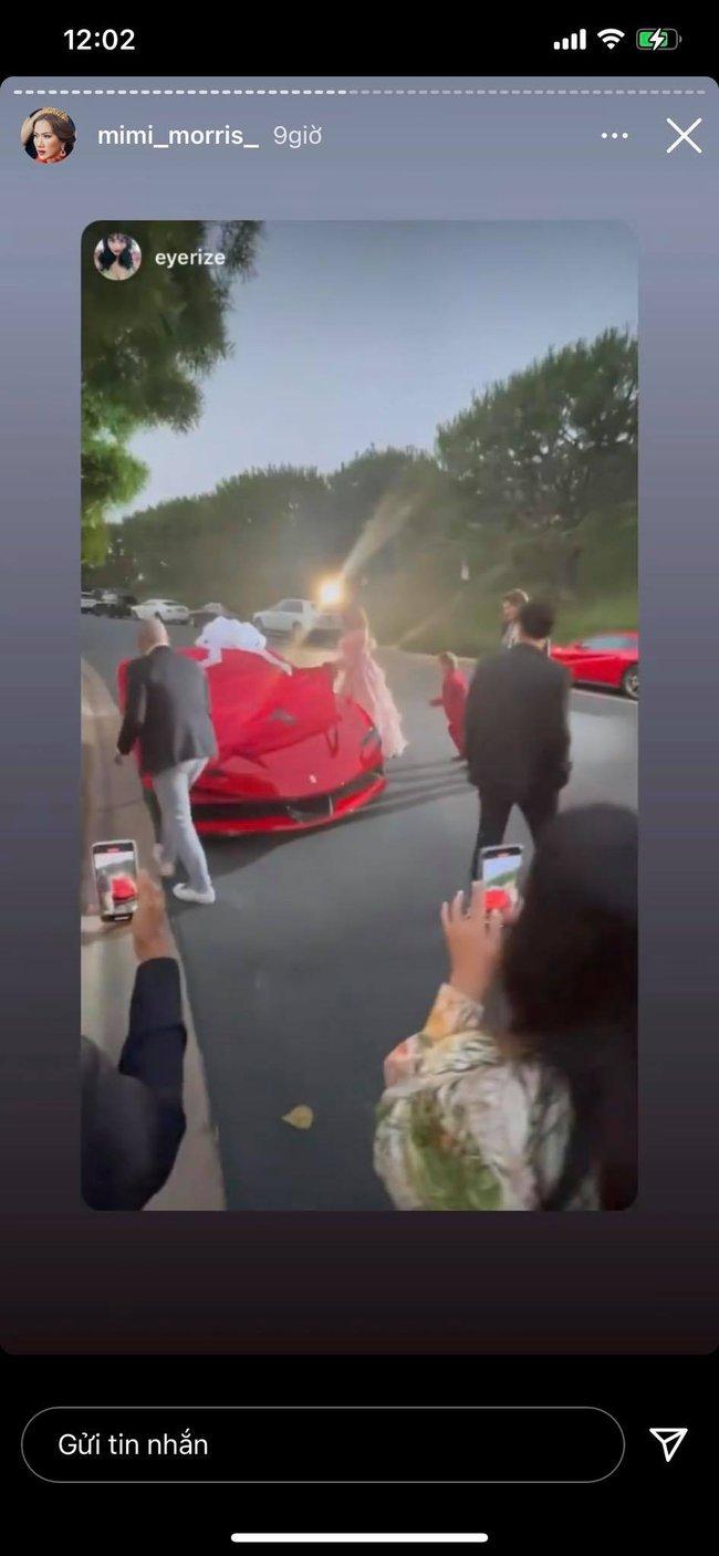 Nữ tỷ phú ở biệt thự 800 tỷ gây choáng với tiệc sinh nhật trải toàn hoa hồng đắt đỏ, cuối buổi còn được chồng tặng siêu xe gây náo loạn đường phố  - Ảnh 7.