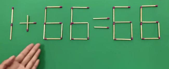 """Làm thế nào để 1   66= 66?, trả lời đúng câu hỏi này trong 5 giây thì bạn đúng là """"quái vật trí tuệ"""" - Ảnh 1."""
