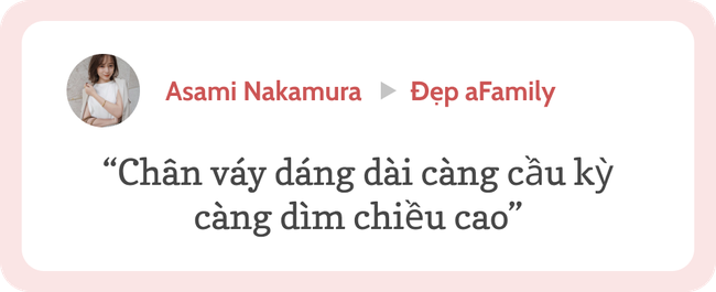"""Blogger người Nhật 42 tuổi cao 1m52: Chỉ mê chân váy dài, luôn có một kiểu hack chân đỉnh nhất đến váy midi cũng """"xin hàng"""" - Ảnh 13."""