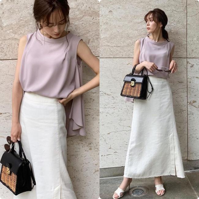 """Blogger người Nhật 42 tuổi cao 1m52: Chỉ mê chân váy dài, luôn có một kiểu hack chân đỉnh nhất đến váy midi cũng """"xin hàng"""" - Ảnh 15."""