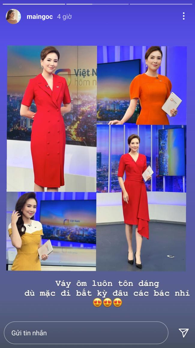 Kiểu váy liền được BTV Mai Ngọc đánh giá là tôn dáng đỉnh nhất,  - Ảnh 2.