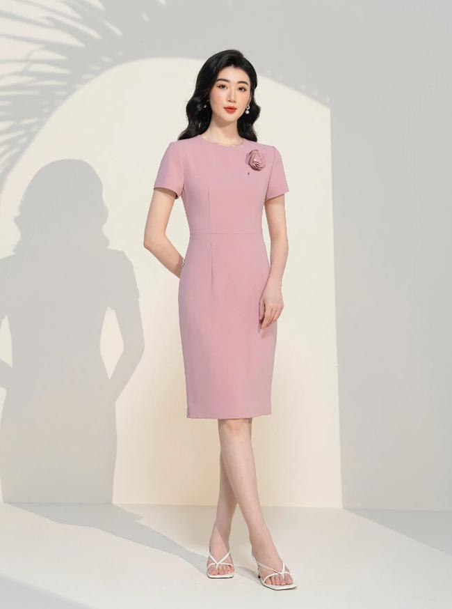 Kiểu váy liền được BTV Mai Ngọc đánh giá là tôn dáng đỉnh nhất,  - Ảnh 5.