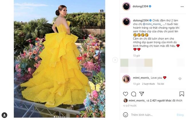 """Lộ diện nhà thiết kế Việt làm ra chiếc váy """"nữ hoàng"""" được tỷ phú Mimi Morris mặc trong lễ kỷ niệm ngày cưới siêu hoành tráng đang gây xôn xao - Ảnh 1."""