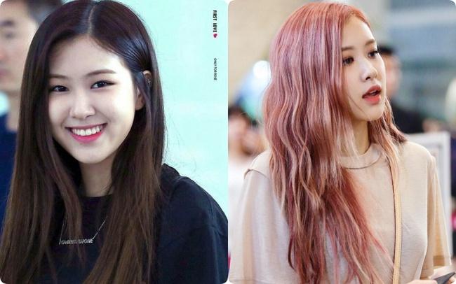 """Lục lại ảnh quá khứ của Rosé (Black Pink) mới hiểu vì sao cô nàng """"ghiền"""" nhuộm tóc sáng màu tới vậy - Ảnh 2."""