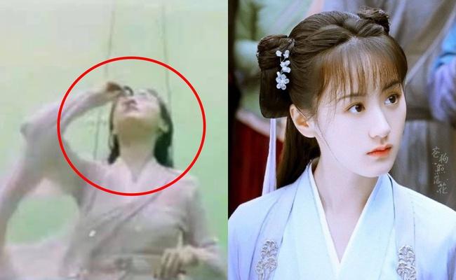Viên Băng Nghiên dùng thuốc nhỏ mắt quay cảnh khóc ở Lưu ly mỹ nhân sát, netizen mắng không xứng làm bản sao Triệu Lệ Dĩnh - Ảnh 1.