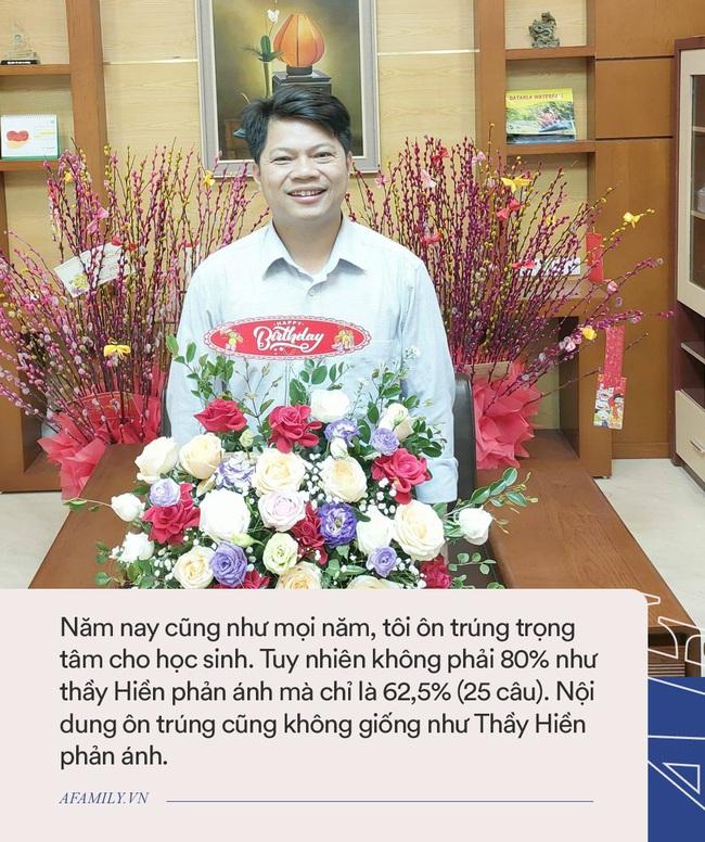 Phỏng vấn thầy Phan Khắc Nghệ: Trả lời tin đồn có đồng nghiệp tham gia Ban ra đề, tiết lộ mối quan hệ hiện tại với người tố cáo - Ảnh 3.