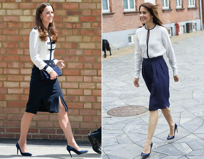 Sau bao nhiêu lần đụng hàng, Kate Middleton vẫn thua vị Công nương này - Ảnh 10.