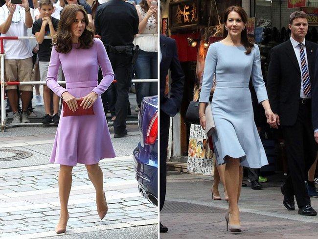 Sau bao nhiêu lần đụng hàng, Kate Middleton vẫn thua vị Công nương này - Ảnh 7.