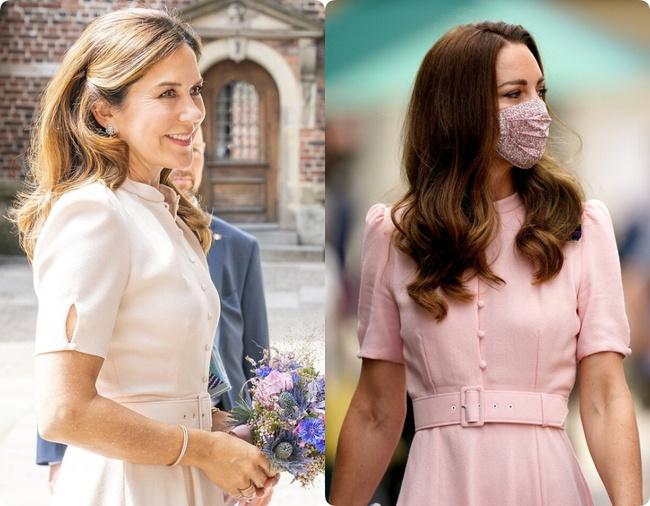Sau bao nhiêu lần đụng hàng, Kate Middleton vẫn thua vị Công nương này - Ảnh 5.