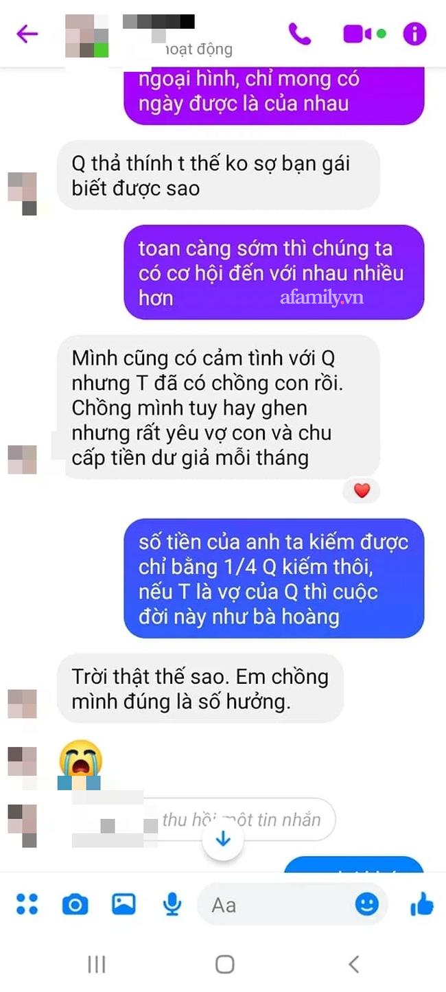 Vô tình đọc được những dòng tin nhắn của chồng tương lai với chị dâu mà tôi chao đảo - Ảnh 3.
