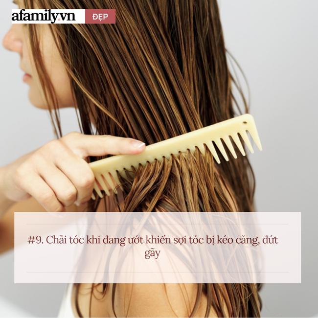 Có tới 11 sai lầm khi chị em chăm sóc tóc tại nhà, chuyên gia nhìn qua cũng hốt hoảng - Ảnh 9.