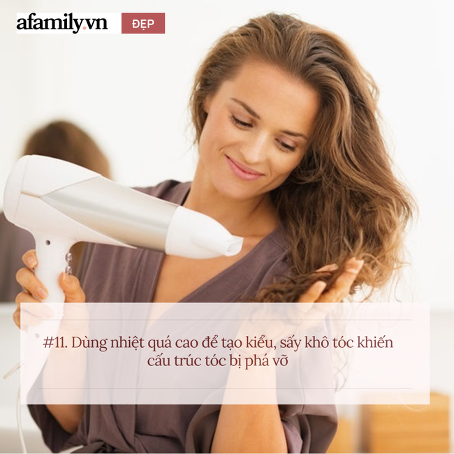Có tới 11 sai lầm khi chị em chăm sóc tóc tại nhà, chuyên gia nhìn qua cũng hốt hoảng - Ảnh 11.