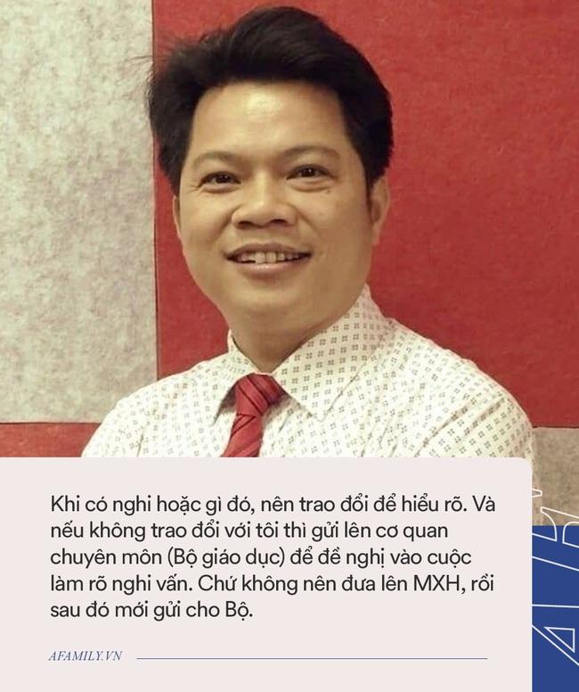 Phỏng vấn thầy Phan Khắc Nghệ: Trả lời tin đồn có đồng nghiệp tham gia Ban ra đề, tiết lộ mối quan hệ hiện tại với người tố cáo - Ảnh 4.