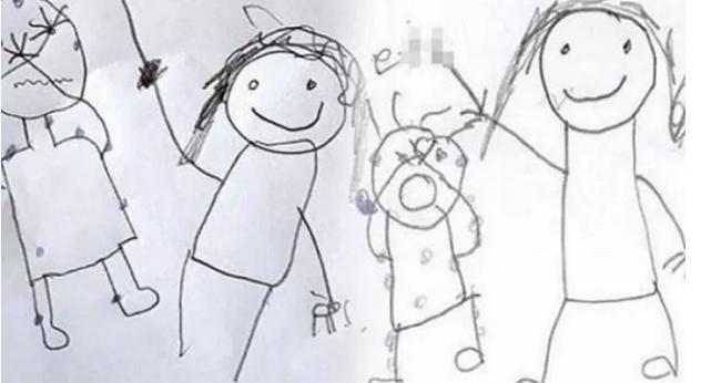 2 đứa trẻ vẽ tranh tố bị bố mẹ hành hạ, cho kẻ xấu xâm hại đổi lấy tiền, xót xa nhất là những dấu chấm trên cơ thể nạn nhân - Ảnh 2.