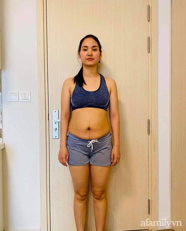 Giấu chồng đi đánh mỡ bụng, uống thuốc giảm cân vẫn thất bại, mẹ trẻ giảm liền 10kg trong 3 tháng nhờ ăn kiểu này - Ảnh 1.