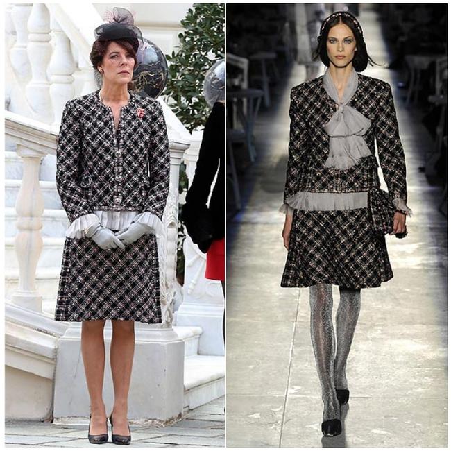 Con gái của Công nương Grace Kelly huyền thoại: Vị công chúa 64 tuổi chuyên mặc đồ Chanel sang hơn cả mẫu quốc tế - Ảnh 3.