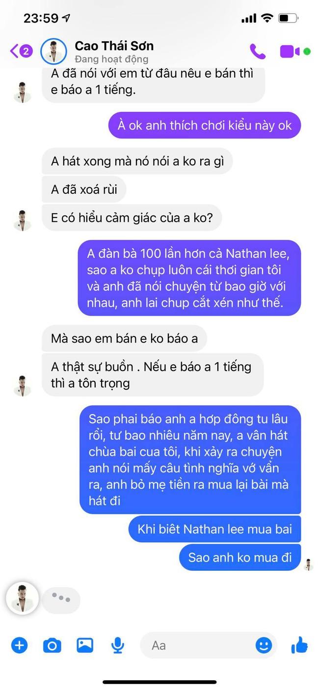 """Khắc Việt tung tin nhắn gọi Cao Thái Sơn """"đàn bà"""", hát chùa nhiều năm, mua bài hát 1 triệu trả giá còn 500 nghìn - Ảnh 5."""