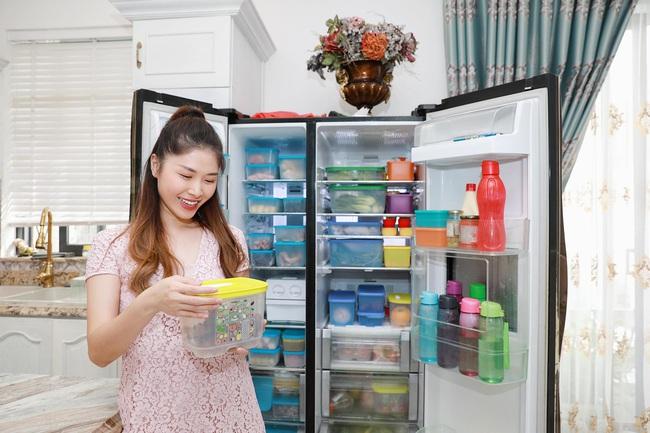 Bà xã Đăng Khôi chỉ ra sai lầm khi bảo quản thực phẩm, tiết lộ 2 nguyên tắc giúp rau củ tươi xanh bất chấp 15 ngày giãn cách! - Ảnh 9.
