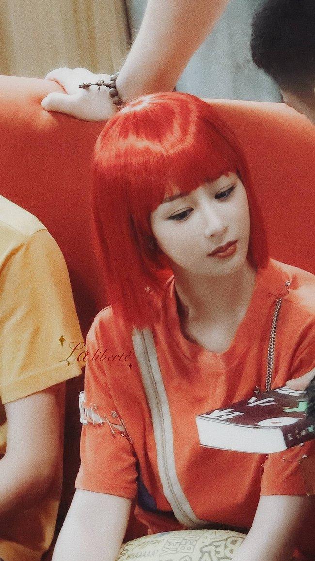 Dương Tử xuất hiện với tóc đỏ, khác lạ đến mức không nhận ra nàng Cẩm Mịch của Hương mật tựa khói sương - Ảnh 6.