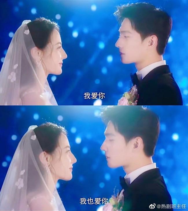 Lộ cảnh Địch Lệ Nhiệt Ba làm đám cưới với Dương Dương, cô dâu mặc váy trắng xinh đẹp quá mức  - Ảnh 3.