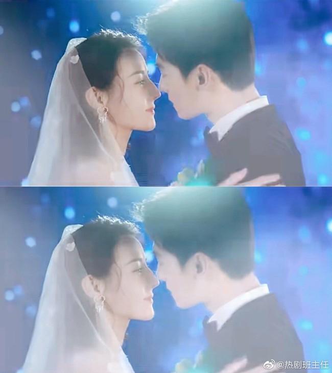 Lộ cảnh Địch Lệ Nhiệt Ba làm đám cưới với Dương Dương, cô dâu mặc váy trắng xinh đẹp quá mức  - Ảnh 2.