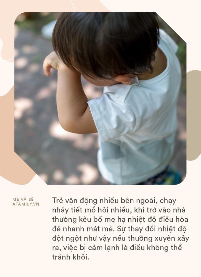 Tại sao trời càng nóng trẻ càng dễ bị cảm lạnh? Cha mẹ làm tốt những điều này, 90% trẻ sẽ có hệ miễn dịch khỏe mạnh - Ảnh 2.