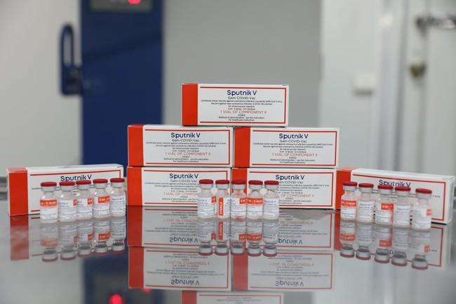 Hình ảnh: Quy trình gia công lô vaccine Sputnik V đầu tiên của Nga tại Việt Nam - Ảnh 13.