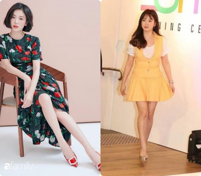 """""""Bóc mẽ"""" sự thật về đôi chân của Song Hye Kyo mỗi khi chụp hình thời trang - Ảnh 10."""