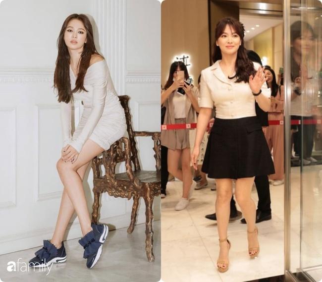"""""""Bóc mẽ"""" sự thật về đôi chân của Song Hye Kyo mỗi khi chụp hình thời trang - Ảnh 4."""