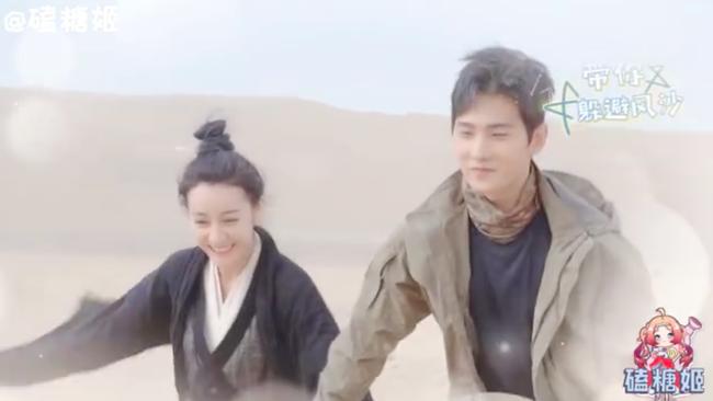 Lộ cảnh Địch Lệ Nhiệt Ba chạy đến ôm chầm lấy Dương Dương, va chạm cơ thể thế nào mà netizen phát sốt - Ảnh 5.
