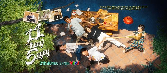 """Phim thế sóng Mùa hoa tìm lại - """"11 tháng 5 ngày"""": Khả Ngân từng yêu Tuấn Tú trước khi đến với Thanh Sơn - Ảnh 1."""