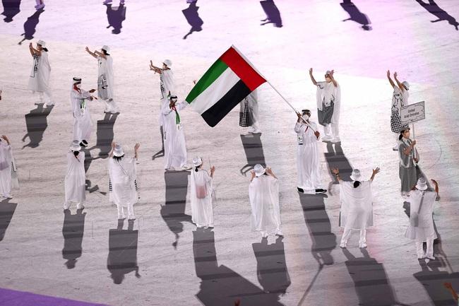 Lễ khai mạc Olympic Tokyo 2020: Rực rỡ sắc màu, mang nhiều thông điệp ý nghĩa - Ảnh 16.