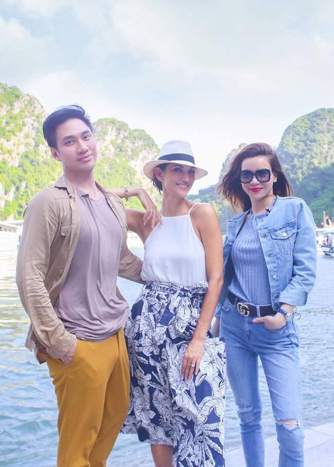 """Ảnh cũ của Hồ Ngọc Hà và Hoa hậu Thái Lan được """"đào"""" lại, nhan sắc đời thường của vợ Kim Lý có bị lép vế? - Ảnh 2."""