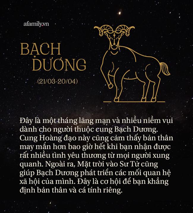 Tháng Sư Tử 2021 đã bắt đầu, đây là những lời nhắn nhủ dành riêng cho 12 cung Hoàng đạo để cuộc sống khởi sắc hơn - Ảnh 1.