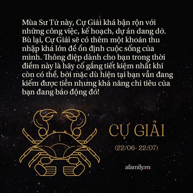 Tháng Sư Tử 2021 đã bắt đầu, đây là những lời nhắn nhủ dành riêng cho 12 cung Hoàng đạo để cuộc sống khởi sắc hơn - Ảnh 4.