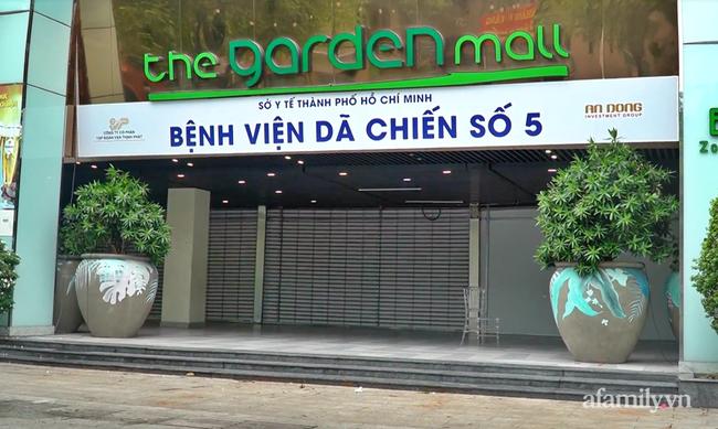 Cận cảnh phòng điều trị của Bệnh viện dã chiến số 5 tại Thuận Kiều Plaza vừa chính thức tiếp nhận F0 - Ảnh 1.