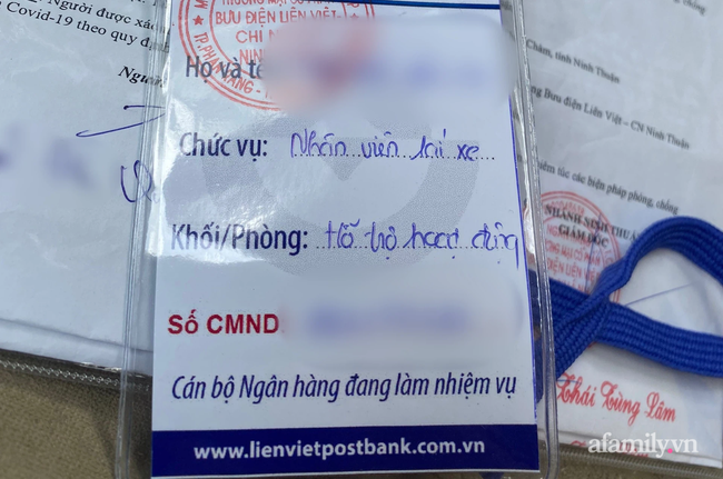"""Tài xế chở tiền ngân hàng bị yêu cầu quay xe ở chốt kiểm soát dịch Ninh Thuận vì """"không phải hàng hóa thiết yếu"""" - Ảnh 5."""