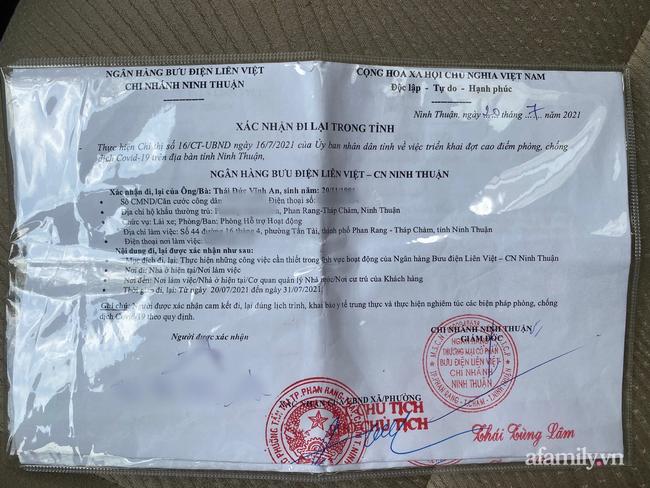 """Tài xế chở tiền ngân hàng bị yêu cầu quay xe ở chốt kiểm soát dịch Ninh Thuận vì """"không phải hàng hóa thiết yếu"""" - Ảnh 1."""