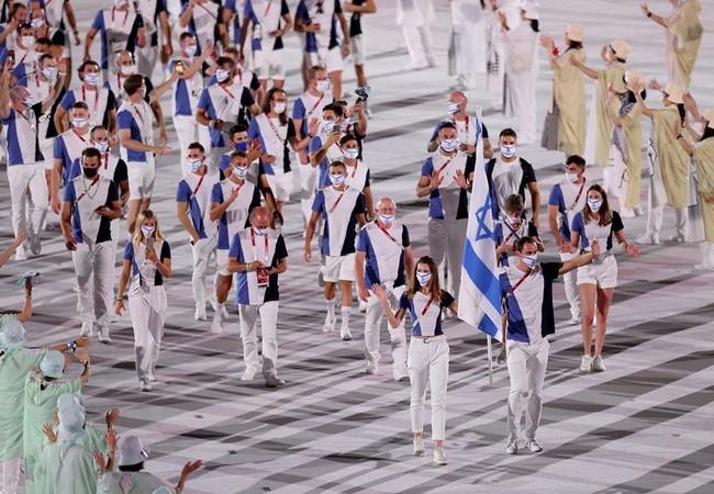 Lễ khai mạc Olympic Tokyo 2020: Rực rỡ sắc màu, mang nhiều thông điệp ý nghĩa - Ảnh 19.